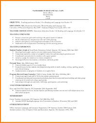Elementary Teacher Resume Sample 60 elementary teacher resume objective gcsemaths revision 46