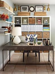 home office office decorating small. Office:Office Exciting Home Decorating Ideas Furniture With Blue Plus Striking Photo Bookshelf Decor Office Small 2