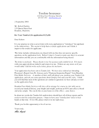 Template Life Cover Insurance Policy Client Thank You Letter The