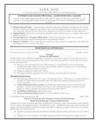 Assistant Principal Resume Sample – Resume Bank