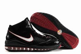 lebron red shoes. lebron james vii shoes black with white red logo,basketball low cut 2017 $
