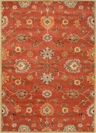 gray and orange area rug auburn silver fern burnt grey rugs