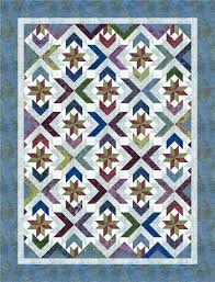 Winter Solstice pattern from Cozy Quilt Designs featuring Tonga ... & Winter Solstice pattern from Cozy Quilt Designs featuring Tonga Zen fabrics  by Daniela Stout. Download Adamdwight.com