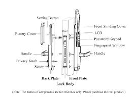 Door Locks Names Stainless Steel Plate Door Lock Door Lock Piece
