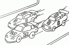 Racecar Coloring Page Free Printable Race Car Coloring Pages For
