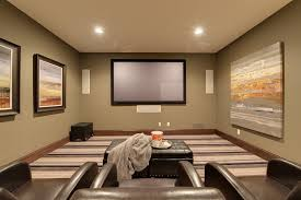 home theater step lighting. home theater painting ideas traditional with olive painted wall step stool lighting