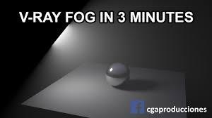 Maya Volume Light Tutorial Autodesk Maya Creating Vray Environment Fog In 3 Minutes