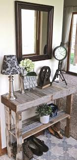 Pallet Entry Table 78 Best Pallets Images On Pinterest