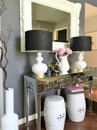 fabulous design mirrored. View In Gallery Home \u0026 Fabulous Living Room Mirrored Console Design N