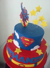 Superman Fondant Cake Design Superman Cakecentral Com