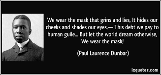 we wear the mask essay critical essay of dunbar s poem we wear the mask