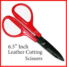 leather cutting scissors