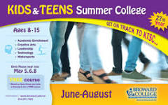 Summer Camp Offerings for Kids and Teens at Broward College