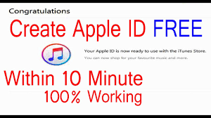 3 step to create apple id within 10 minute without credit card apple id 2017