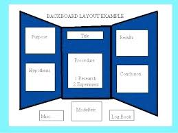 science fair display board templates new science project board layout project board template