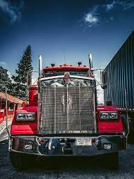 Kenworth, truck, car, red, HD mobile ...