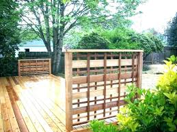 deck privacy screen home depot diy outdoor screening ideas balcony screens scree