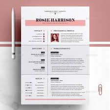 Template Download Professional Cv Template Word Resume