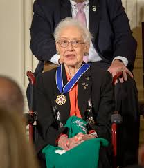 katherine johnson the girl who loved to count nasa former nasa mathematician katherine johnson is seen after president barack obama presented her the presidential