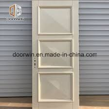 china market wooden single main door design white color door oak entry door for home