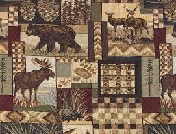 wildlife upholstery fabric | Rustic Lodge Fabric - Wildlife, Moose ... & wildlife upholstery fabric | Rustic Lodge Fabric - Wildlife, Moose, Deer,  Bear Adamdwight.com