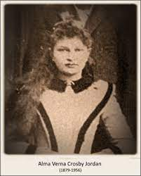 Alma Verna Crosby Jordan (1879-1956) - Find A Grave Memorial