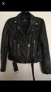 real leather jacket zara size m