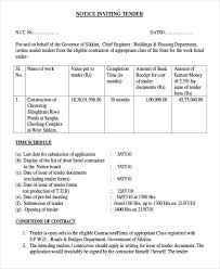 Tender Document Template Adorable 44request For Tender Letter Proposal Bussines