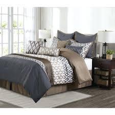 grey and tan bedding grey and brown comforter sets piece polyester set grey bedding tan walls