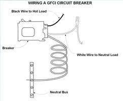 two pole gfci breaker wiring diagram wiring diagram siemens 15 single pole type qfp gfci circuit breaker qf115p