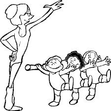Gratis Dansen Kleurplaten Voor Kinderen 8
