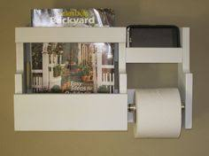 Toilet Roll Holder Magazine Rack Choose Your Color Magazine Rack With Toilet Paper Tissue Holder 95
