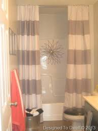 shower window curtains that match small blinds waterproof