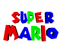 Nintendo 64 - Super Mario 64 - Logo (Debug Menu) - The Models Resource
