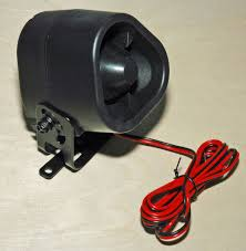 installing trailer alarms hotrod hotline Lowes Trailer Wiring Harness this is the siren and bracket supplied in the kit for mounting outside the trailer it is weather resistant and is usually mounted beneath the trailer in an 7-Way Trailer Wiring Diagram