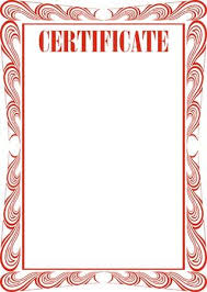 white certificate frame certificate frame isolated on the white background royalty free