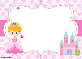 Princess Birthday Invitation Templates Sofia Template Fairy