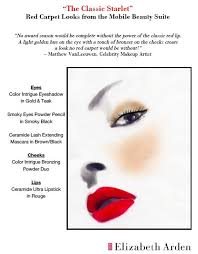 Elizabeth Arden Classic Starlet Face Chart How To Create