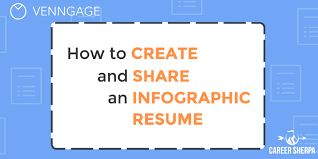 Infographic Resume Beauteous The Right Way To Use Your Infographic Resume Career Sherpa