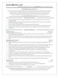 Sample Senior Business Analyst Resume Cover Letter Senior Business ...