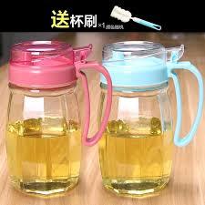 transpa household glass leak proof oiler soy sauce only beautifulness bottle vinegar