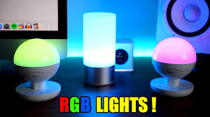 led table lighting. AUKEY RGB LED TABLE LAMPS !!! Led Table Lighting