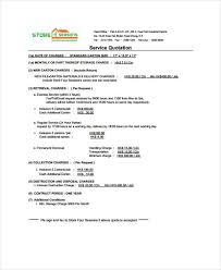 Service Quotation 10 Service Quotation Templates Free Samples Examples Format