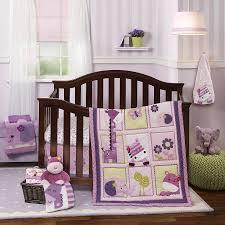 jungle crib bedding purple