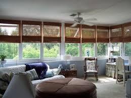 simple sunroom window treatments