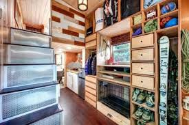 home wall storage. Tiny House Storage Solutions-Built-in Wall Home