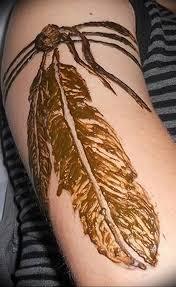 фото мехенди перо птицы 25102018 016 Mehendi Bird Feather