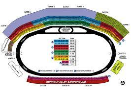Atlanta Motor Speedway Seating Chart