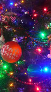Colorful Christmas Lights Decoration ...