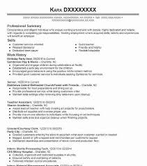 Best Birthday Party Host Resume Example | Livecareer